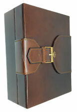 Rolex Vintage watch box leather brown 71.00.04