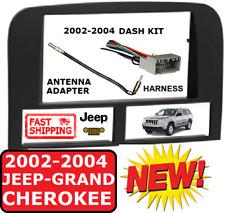 02-04 JEEP GRAND CHEROKEE Metra 95-6546B DOUBLE DIN CAR RADIO STEREO DASH KIT