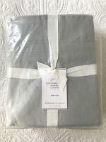 Pottery Barn 500 Thread Count Grey Sheet Set 100% Cotton Queen Size NEW