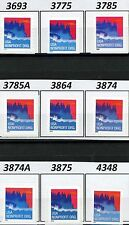 Seacoast NonProfit Org Rate Coils Complete Set of 9 MNH See Listing for Scotts