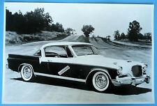 "1956 Studebaker Golden Hawk 12 X 18"" Black & White Picture"