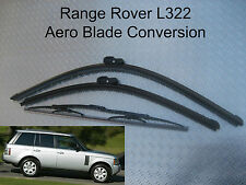 AERO FLAT Front Rear Wiper Blades Range Rover L322 2002 - 2012 YES THEY DO EXIST