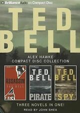 NEW Ted Bell Alex Hawke CD Collection: Assassin, Pirate, Spy (Hawke Series)