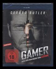 Blu-ray Gamer-extended version-FSK 18-creadores de Crank-gerard butler nuevo