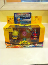 KROSMASTER Duel Pack: MERKATOR & CAPTAIN AMAKNA + Membership Card.  Brand New!!