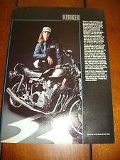 1981 YAMAHA XS850 KERKER EXHAUST  ***ORIGINAL AD*** XS-850