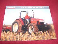 Case International CX50 CX60 CX70 CX70 CX80 CX90 CX10 Tractor Dealer's Brochure