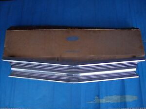 1969 Ford Galaxie 500 Custom Custom 500 Car & Station Wagon Front Grille NOS