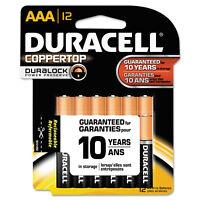 Duracell CopperTop Alkaline Batteries with Duralock Power Preserve Technology