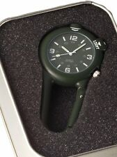 4500 Rothco Clip Watch w Blue LED Light- Olive Drab