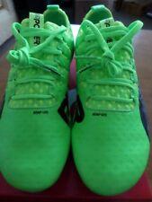 PUMA EVOPOWER VIGOR 1 Mx SG - GREEN BLACK YELLOW - UK 6 - MENS FOOTBALL BOOTS