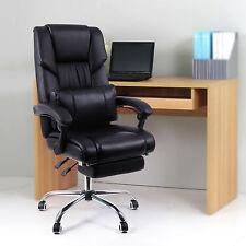 Gebrauchte Bürostuhl Stuhl Chefsessel Drehstuhl mit Fußablage L184064B+OBG71B