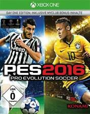 Pro Evolution Soccer 2016-Day 1 - Edition D1 XBOX One XB-One NUEVO + EMB.ORIG