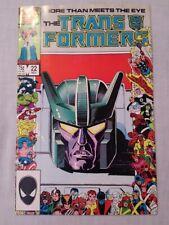 Transformers #22 & #32 (1986-87) Marvel Comics