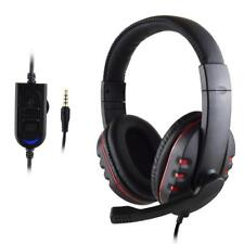 Gaming Headset Mic With Voice Voulme Control Wired HI-FI Sound Quality For PS4