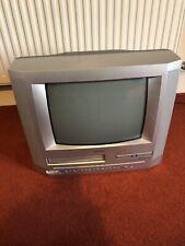 "Bush BTV183DVD/C Combi VHS DVD DTV 14"" CRT VCR Video Retro Gaming  Vintage"