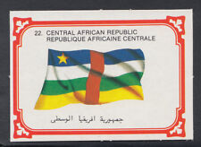 Monty Gum 1980 Flags Cards - Card No 22 - Central African Republic  (T671)