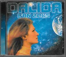 CD ALBUM 16 TITRES--DALIDA--L'AN 2005--1997