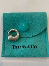 Tiffany & Co Elsa Peretti Small Eternal Circle Charm Pendant 925 Sterling Silver