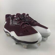 Adidas Litestrike Baseball Cleats Maroon Mens Size 6.5