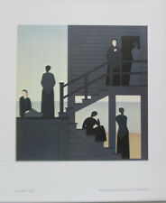 Will  Barnet Waiting Offset Lithographic Reproduction 17X14  1976 Unsigned