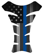 Fallen Officer Black Military Motorcycle Gas 3D tank pad tankpad protector Decal