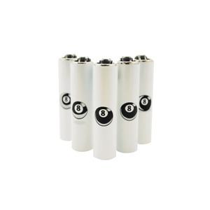 5x Clipper Lighters Refillable Mini Size 8 BALL 5x
