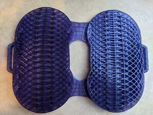 The Everywhere Purple Seat Cushion with removable black Cover Orthopedic