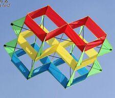 NEW 47-In power box 3D kite /single line Outdoor fun Sports stunt kites Toys