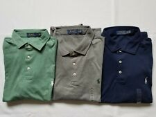 New Polo Ralph Lauren Men's Short Sleeve Soft Touch Polo Shirt Pony Great Gift