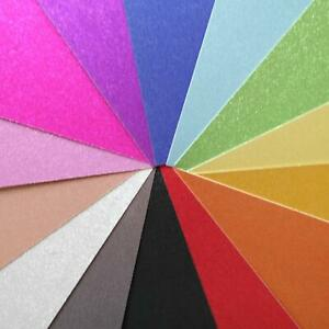 A4 Double-sided 400gsm No Shed Glitter Card 14 colours - Cricut Laser Papercraft