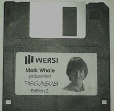 WERSI  Diskette Pegasus,PhonX, Mark Whale, Edition 2