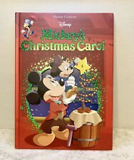 Disney Classics MICKEY'S CHRISTMAS CAROL Die-cut Hardcover Children's Book.