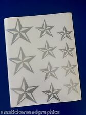 Nautical Star sheet combo vinyl 11 stickers decals car truck boat suv tattoo emo