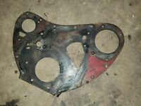 FARMALL SM Tractor Front Engine Plate IHC C264 motor timming cover plate SMTA