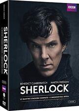 SHERLOCK - 4 STAGIONI + L'ABOMINEVOLE SPOSA (10 DVD) SERIE TV CULT