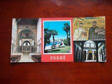 Porec Jugoslavia postcrd wwith escrito sellos y franqueo.