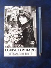 Louise Lombard  Autograph (DD4)
