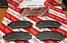 2008-2013 TOYOTA HIGHLANDER / HV REAR CERAMIC BRAKE PADS GENUINE OEM 04466-AZ105