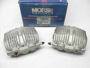 Morse P4343 Remanufactured Disc Brake Caliper Set - Rear