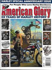 Harley Davidson motorcycle magazine History Anniversary models Factory tours