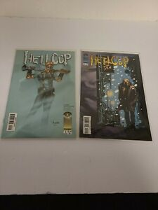 Lot of 2 Comic Books Image Comics Hellcop Bagged & Boarded