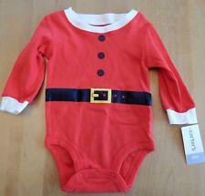 Carter's Santa Claus Bodysuit Unisex 6 Months