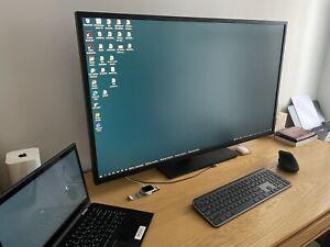 """Hp Z43 43"""" 4K Monitor Screen Only A Few Months Old. In Warranty RRP $1599"""