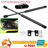 For 2015-19 Ford MUSTANG Vehicle Front Hood Bonnet Shock Spring Gas Struts x2 AU