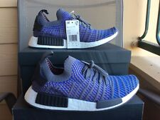 9f059f20e NEW MEN S ADIDAS ORIGINALS NMD R1 STLT PK BOOST Blue Black Coral CQ2388 ...