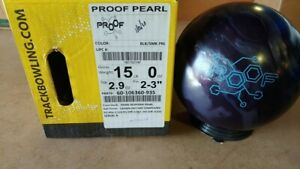 NEW 15lb Track Proof Pearl Bowling Ball Brand 31059