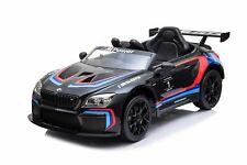 Kinder Elektroauto BMW M6 Sport GT3 Auto Mp3 Usb RC Bluetooth Eva Leder Sitz