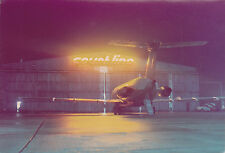 Court Line Bac 1-11 G-Axmg night Time image Luton Airport - 6 x 4 Print