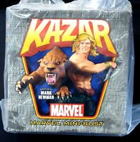 Ka-Zar and Zabu Bust Statue Brand New 2007 Bowen Marvel Comics X-men Amricons